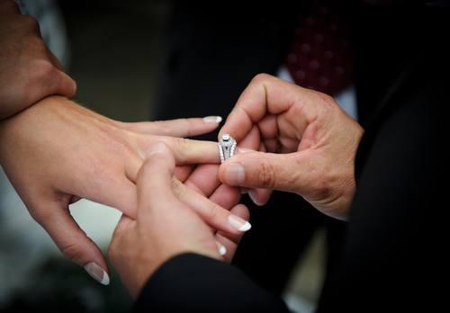 forlovelsesringe hvilken hånd