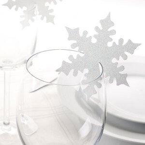 Vinterlige bordkort fra Paperdeluxe