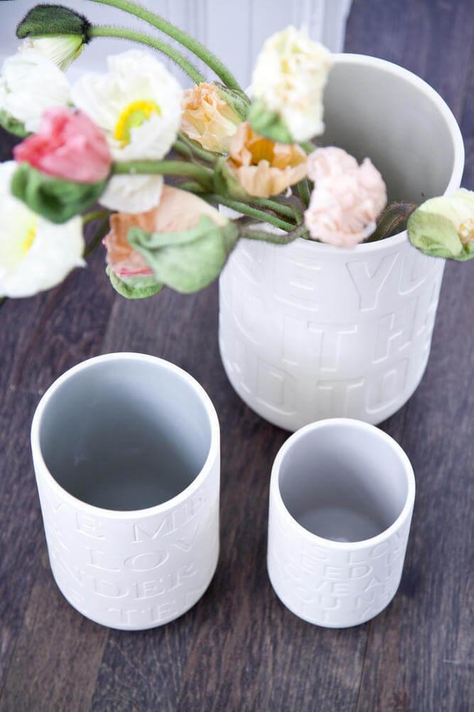 En Love Song vase fra Kähler kunne være et perfekt bryllupsgaveønske