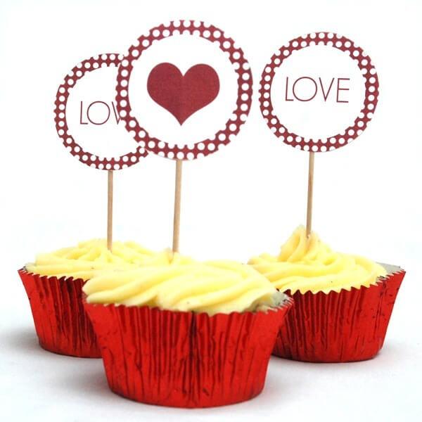 cupcakes til brylluppet